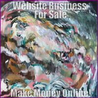 ART & ARTISTS Website Earn £42 A SALE|FREE Domain|FREE Hosting|FREE Traffic