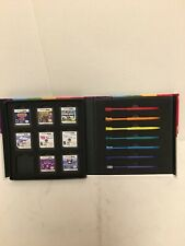 iCon Nintendo DS / DSi Rainbow Stylus Pack & Travel Case Holds 8 Games+7 Stylets