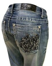 """Buckle Miss Me Easy Boot 36 X 29"""" Stretch Jean B3070ebs"""