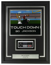 Bo Jackson Framed Tecmo Bowl 8x10 Oakland Raiders Photo w/ NES Controller