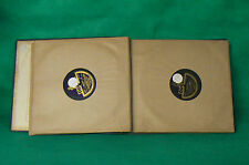 Lot de 11 Vinyles 78 tours anciens + classeur PERFECTUS ( 2 )
