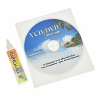 DVD VCD Player Laser Head Lens Cleaner Scratch Repair Dry Wet Disc Cleaning Kit