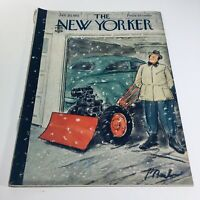 The New Yorker: Jan 20 1951 - Full Magazine/Theme Cover Perry Barlow