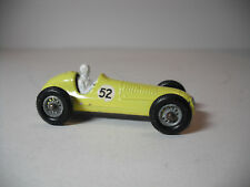 Vintage Lesney Matchbox #52A 1958 MASERATI 4CLT YELLOW F1 Racing Car V5 ORIGINAL