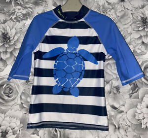 Boys Age 5-6 Years - Rash Vest / Sun Protection / Swimming Top