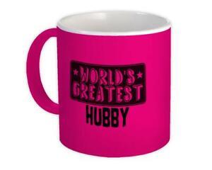 Gift Mug : World Greatest HUBBY Family Christmas Birthday Husband