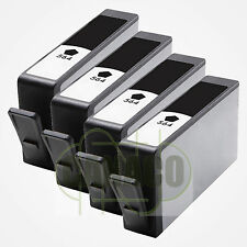 4 New Black 564 564XL Ink Cartridge for HP Plus-B209a C5324 D5440 B109 5520 7520