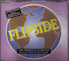 Flipside-The world is A Ghetto cd maxi single 7 tracks