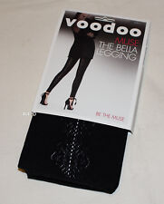 Voodoo Ladies Black Muse Bella Fashion Leggings Black Size M / L H30377