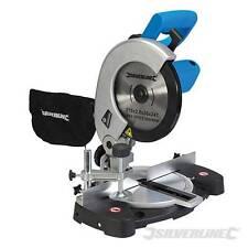 Silverline 1400w 210mm Mitre Saw & de corte Cuchilla Sierra 240v 3 Año De Garantía