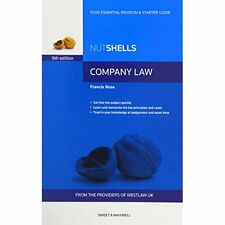 Nutshells Company Law (Paperback), Francis Rose, 9780414035812