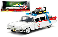 Jada 1:24 W/B Metals Hollywood Rides Ghostbusters Ecto-1 Diecast Car 99731