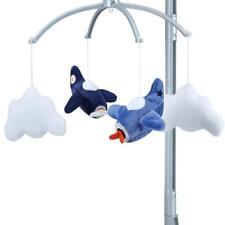 Carter's Take Flight Airplane/Cloud Nursery Crib Musical Mobile