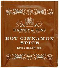 Harney & Sons Hot Cinnamon Spice Tea 3.57 oz 50 Tea Bags