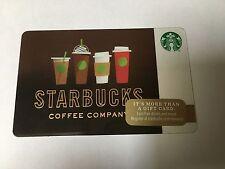 Starbucks Gift Card Holiday Christmas Drink Cups 2016