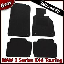 BMW 3-Series E46 Estate 1998-2006 Tailored Fitted Carpet Car Floor Mats GREY