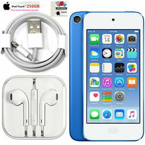 New, Apple iPod Touch (7th generation) -Blue, 256GB, 1 YEAR WARRANTY