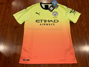 2019-20 Puma Manchester City Men's Third Soccer Jersey Large L Man City