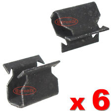 FORD FOCUS MK2 COWL SCUTTLE PANEL TRIM CLIPS METAL CLAMP