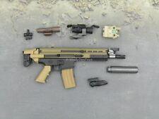 1/6 Scale Toy PMC Urban Sniper - Custom 5.56mm SCAR Assault Rifle
