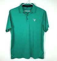 Nike Micro Geo Standard Fit Premium Golf Polo Shirt Size Men's XL 'Palm Meadows'