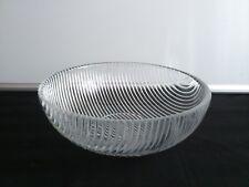 """Superb salad bowl """"Buffet"""" designed by Per Lütken  for Holmegaard 1987."""