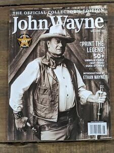 Official Collector's Edition JOHN WAYNE Vol 40 - Special 40th Issue