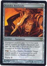1X  FOIL Rakdos Riteknife Dissension MTG Magic the Gathering  DIS   NM
