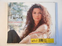 SHANIA TWAIN : FOREVER AND FOR ALWAYS (FRENCH PROMO) - [ CD-MAXI - PORT 0€ ]