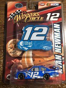 2008 Ryan Newman Alltel 1/64 Scale #12 NASCAR COT Winner's Circle Car PIT SIGN