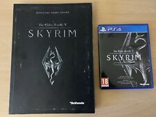 Skyrim The Elder scrolls 5 ps4 special edition + Guide + Map