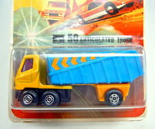 """Matchbox SF Nr. 50B Articulated Truck mit """"Streifen"""" rare 1972 Blisterkarte"""