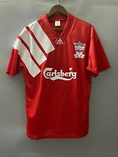 Retro Liverpool Home Shirt 92-93 Extra Large XL - BNWT - UK Seller New Carsberg