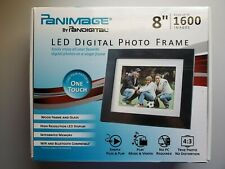 NEW Panimage 8 inch High Resolution LED Digital Wooden Photo Frame 1600 Photos💖