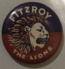 VFL/AFL COLLECTABLE BADGES FITZROY LIONS