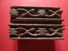 Tampon a Textile ou Batik  Ancien , Rajasthan