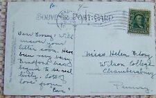 VINTAGE POSTCARD, RESIDENCE OF L. EMERY JR. BRADFORD, PA. (4321)