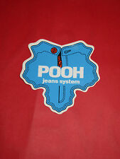 ADESIVO NUOVO ANNI 70 POOH JEANS SYSTEM