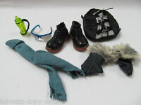 BARBIE SINDY SIZE CLOTHING ACCESSORIES FOR KEN MALE DOLL SKI PACK SHOES GLOVES