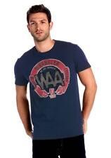 "T-Shirt blau mit Druck Gr. XL  ""Wrangler""   NEU"