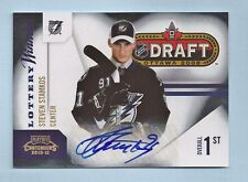 STEVEN STAMKOS 2010/11 PLAYOFF CONTENDERS LOTTERY WINNERS AUTOGRAPH AUTO /50
