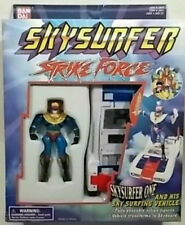 Skysurfer Strike Force -Sky Surfer One & His Sky Surfer Vehicle By Bandai MISB