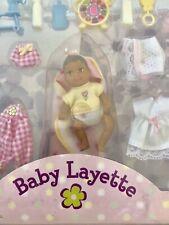 Vtg Mattel Barbie Baby Krissy Baby Layette New In Box Barbie's Little Sister'99?