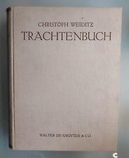 Hampe ( Hg. ) DAS TRACHTENBUCH DES CHRISTOPH WEIDITZ 1927 154 Tafeln