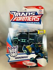 Transformers Animated Decepticon Soundwave Deluxe Class