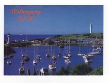 The Boat Harbour Belmore Basin Wollongong NSW Australia Postcard 926b