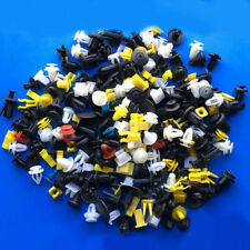 Plastic 200pcs Auto Car Various Rivet Fasteners Push Pin Bumper Fender Panel New