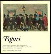 Pedro Figari Exposition Catalogue 1967