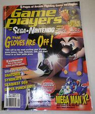 Game Players Magazine Mega Man X2 January 1995 NO ML 081214R2