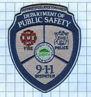 Fire Patch - Pittsfield Charter Twp. 9-1-1 Dispatch